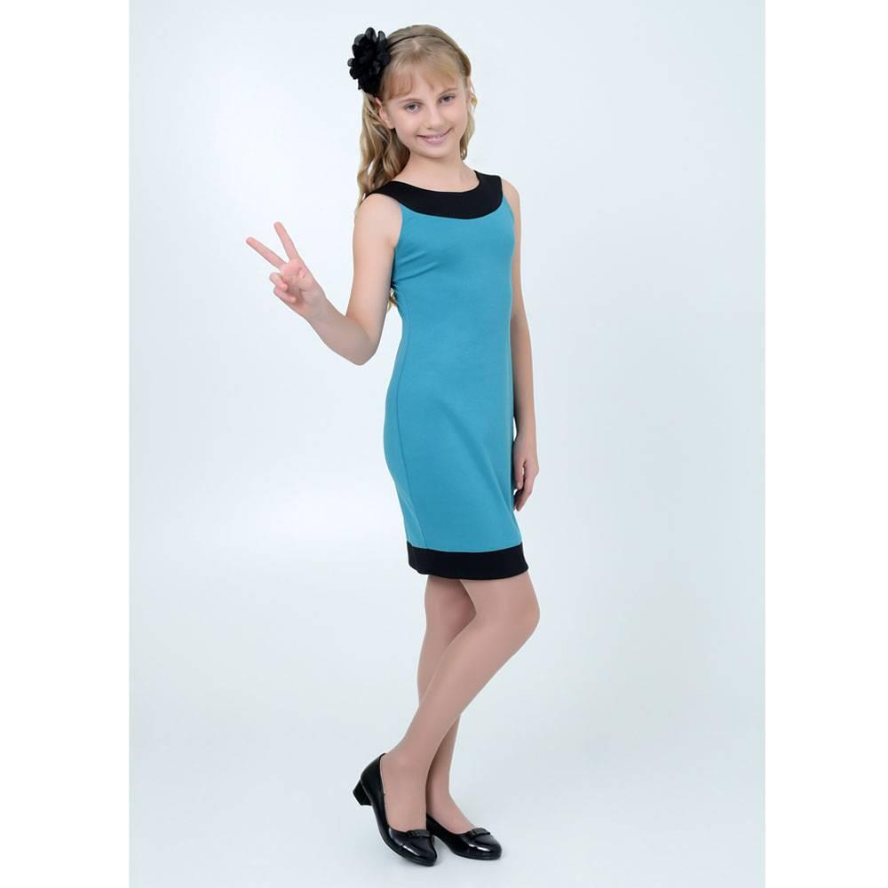 выкройка платья на девочку 2 лет с размерами